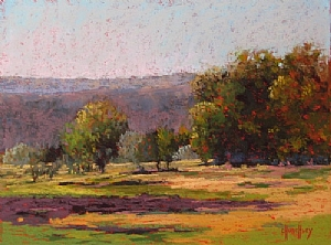 Barbara Churchley plein air painter