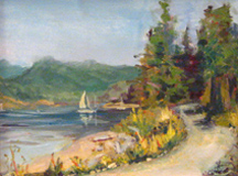 Nanci Cook plein air painter