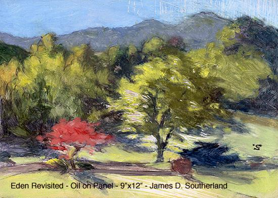 Jim Southerland painting