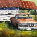"BOHLMAN, TINA Waxahachie, Texas  ""Days Gone By"" - 9 x 12 - Watercolor"