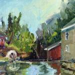 McMahon_Kathryn_A_ Old_Morningstar_Mill_ oil_8x10