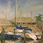 McMahon_Kathryn_A_ City_Dock_ oil_20x16