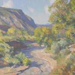 "Macpherson Kevin __ "" Headed to Rio Grande Gorge "" - Oil - 18 x 24"