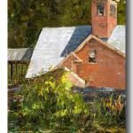 "NANCY ALBRECHT    ___ ""Book Mill""    ___ oil painting  ___ Chicago, Illinois___ Retired  ___  LIFE MEMBER"