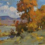 "Mueller Ned_ "" Wyoming Autumn ""_ 8x10 _ Sold"