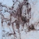 "Mueller Ned _ "" Plein Air Artists ""_ 16x20 _ Sold"
