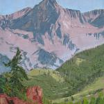 Cobb, Rodney Rockies Half Moon PM Oil 12 inches x 10 inches $480.00 USD