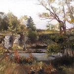 Grund, Shelley   __ Old Quarry french Road  __12x16  oil