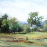"Grund, Shelley  __ ""Late Summer View""  __8x10 oil"