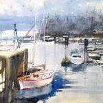 "Peggy Burkosky   ___ ""Comox Harbour  British Columbia Canada"